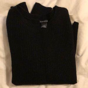 Club Monaco black and cream sweater